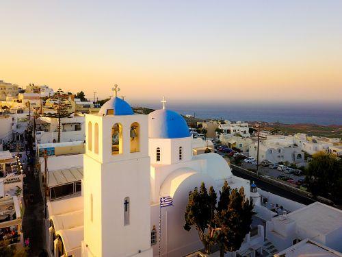 greece santorini landscape