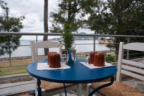 greece  table  summer
