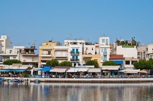 greece  agios nikolaus  city