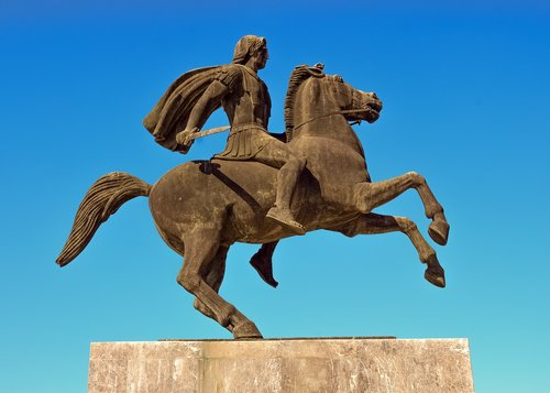 greece  thessaloniki  alexander the great