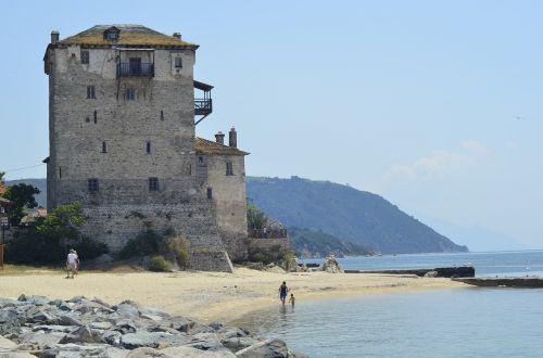 greece halkidiki sea