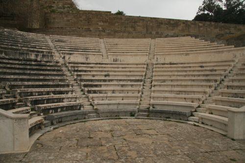 Greece Amphitheatre Ruin