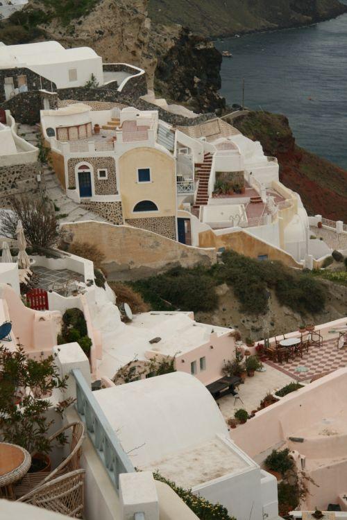 Greece Santorini Ocean