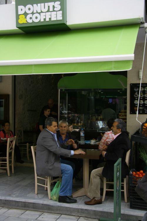 Greece Sidewalk Cafe