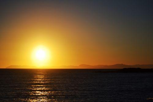 Greece Sunset Seascape