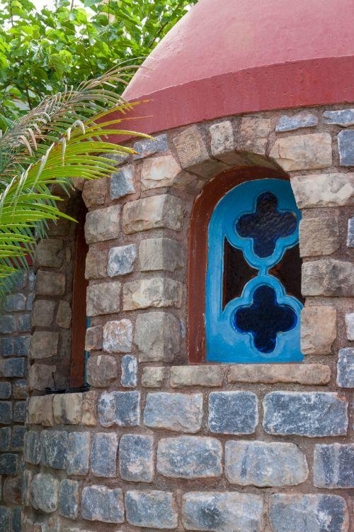 Greek Chapel Window
