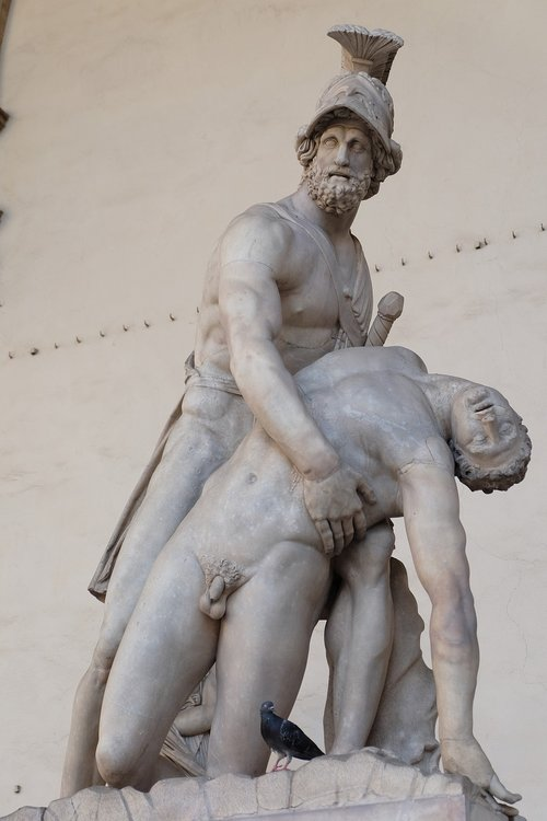 greek heroes say  florence  art