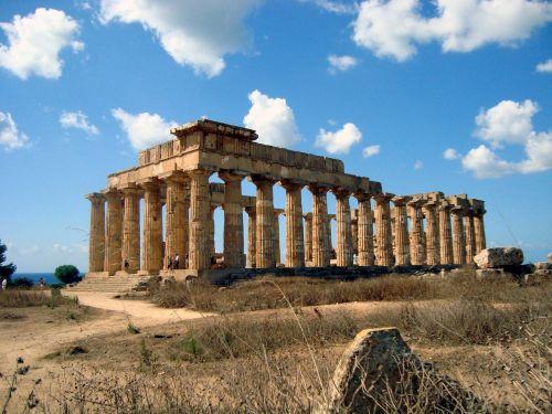 greek temple ruins monument