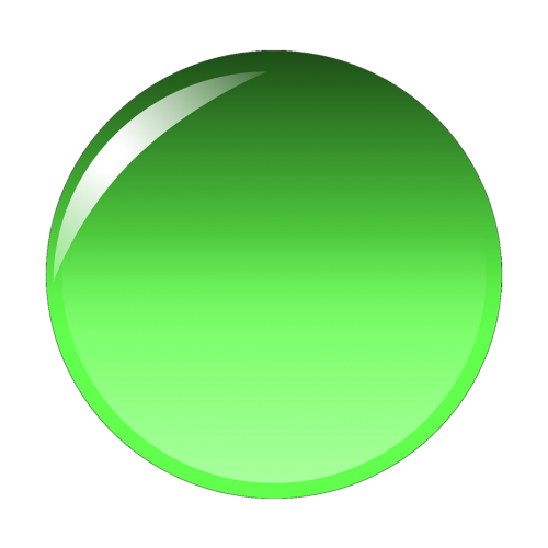 green orb button
