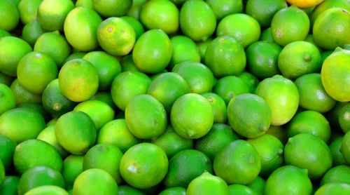 green limes fruit