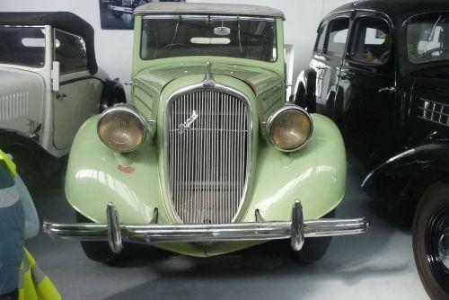 green car skoda