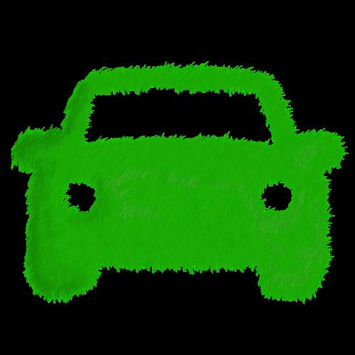 green direction grass