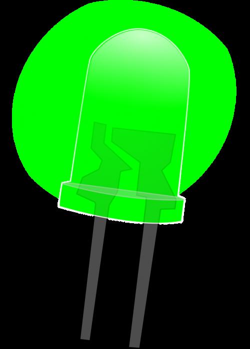green led led lamps