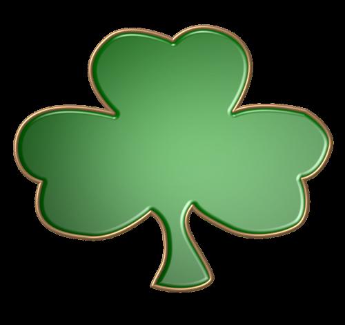 green gold shape