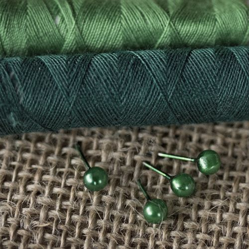 green threads sewing