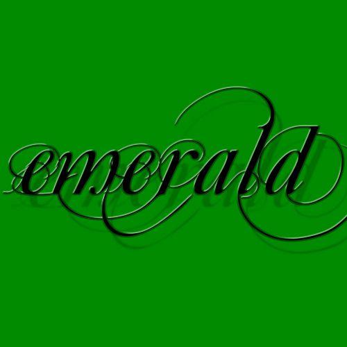 green dark green emerald green
