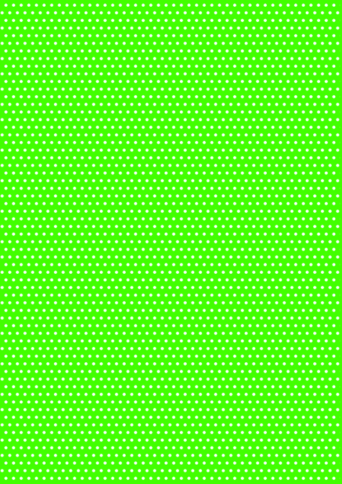green polka dot texture