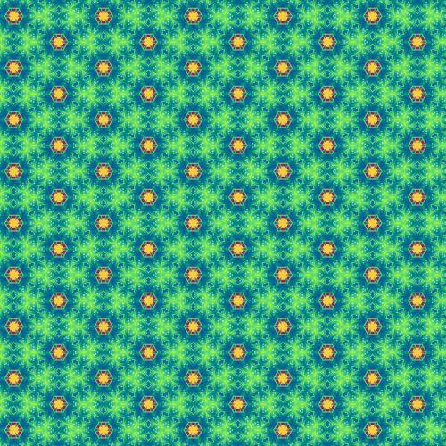 green blue geometric