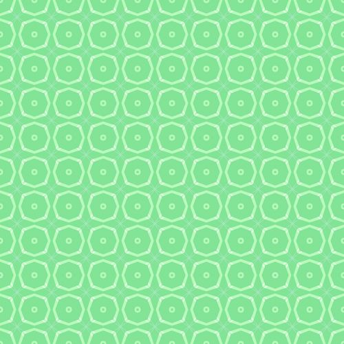 green white geometric