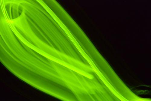 green light blurry