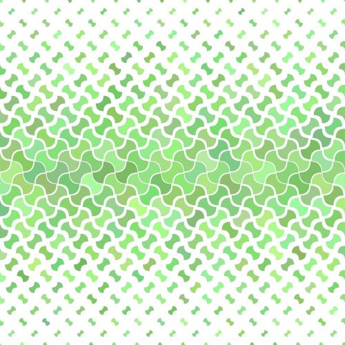 green green pattern curved