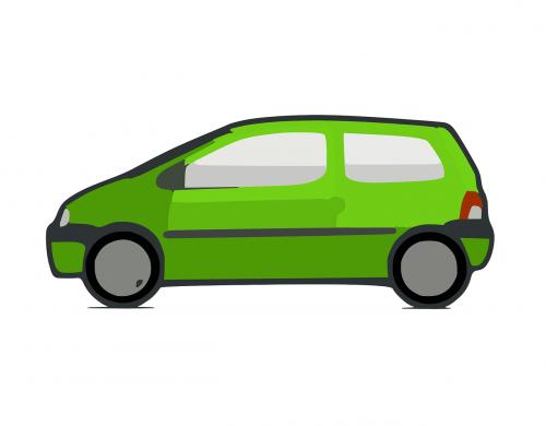 green car little