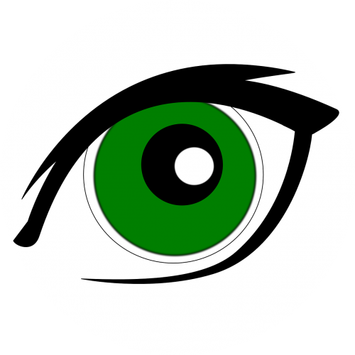 green eyes eyeliner