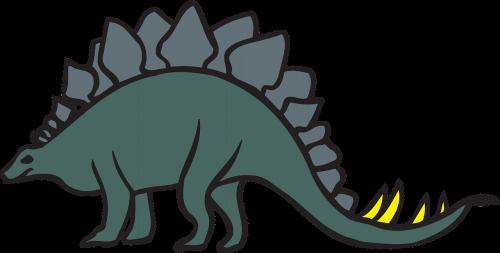 green view dinosaur