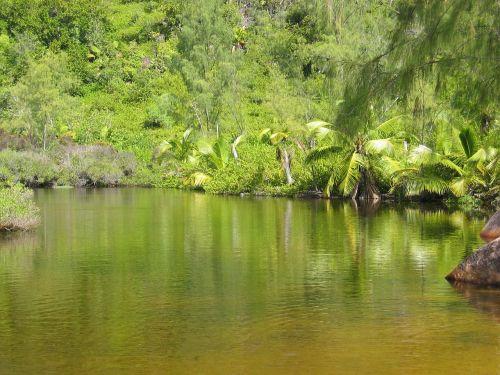 green lake waters