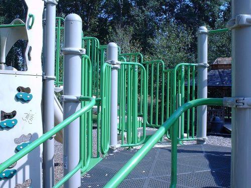 green playground childhood