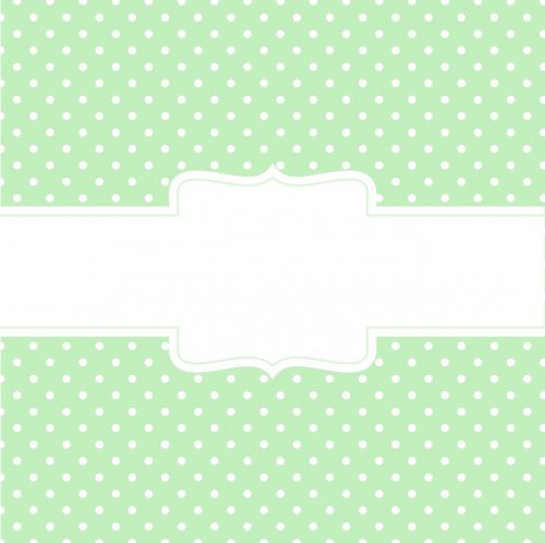 green background banner