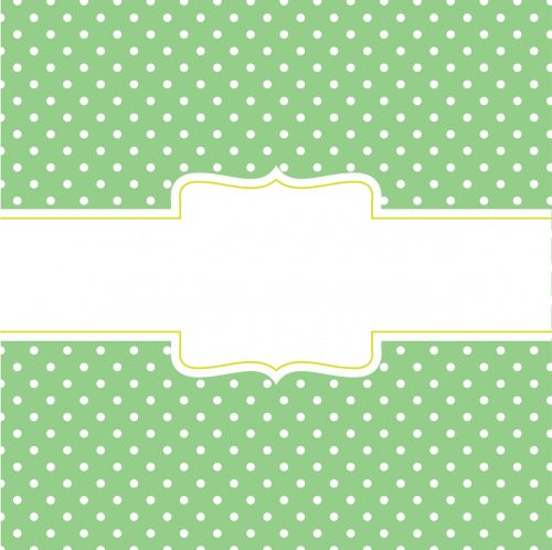 Green Card With Banner