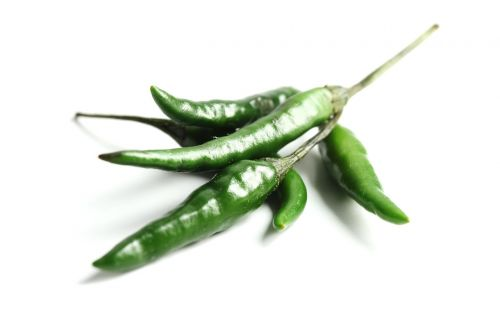 green chilli hot spicy