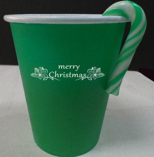 Green Christmas Cup  #2