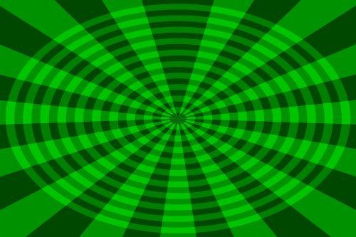 Green Circular Fan