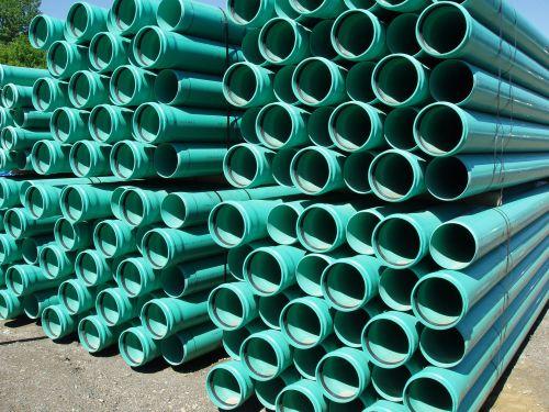 Green Culvert Pipes