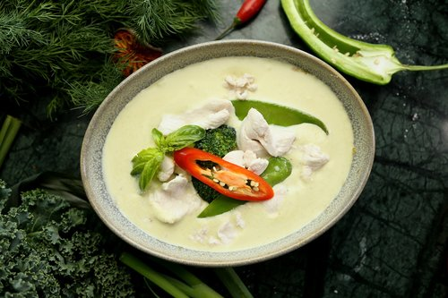green curry  thai food  thai ingredient