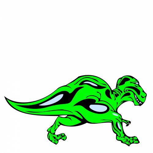 Green Dinosaur 2