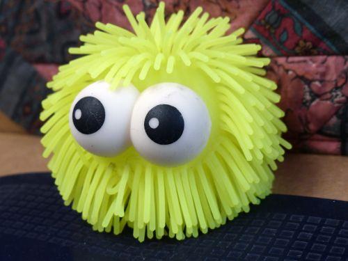 Green Eyeballs Toy
