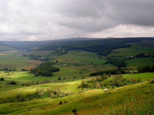 Green Flowing Hills