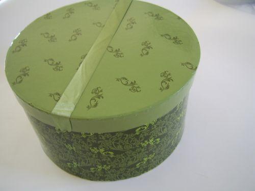 Green Hat Box