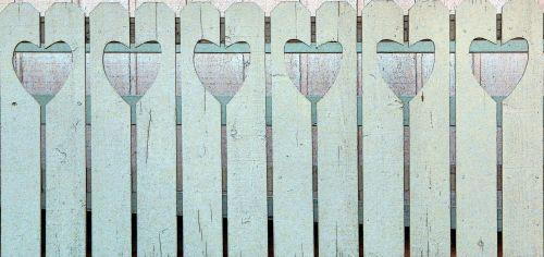 Green Hues Picket Fence