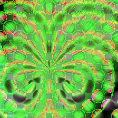 žalias, magija, psichodelinis, rutuliai, tekstūra, fonas, sfera, žalia magija kamuoliai