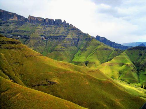 Green Mountain Folds, Drakensberg