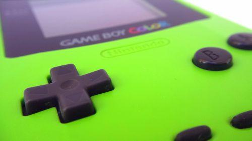 Nintendo, žaidimas berniukas spalva, konsolė, retro, vintage, rankinis, nintendo žaidimas nėščia, elektronika, technologija, žaidimų, 8 bitų, nešiojamas, žalias, kontrolė, mygtukai, d-pad, žalia nintendo žaidimo berniukas spalva