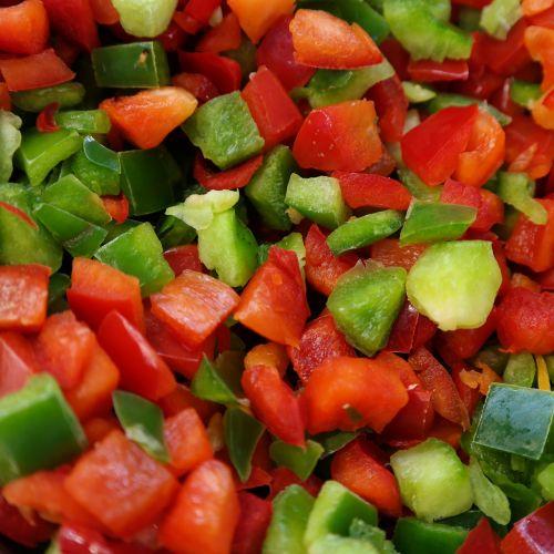 green pepper red pepper pepper
