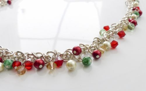 Green, Red, Gold, Silver Links