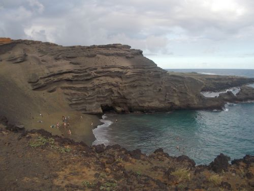 green sands papakōlea beach hawaii