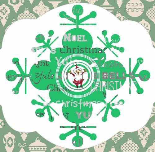 Green Snowflake Christmas Songs