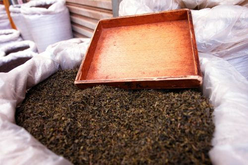 green tea loose tea black tea